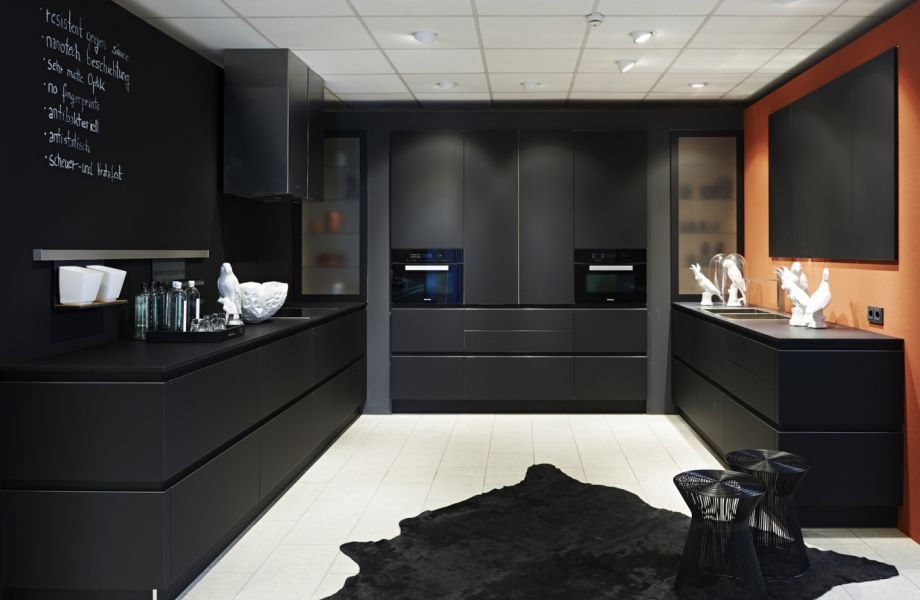 Zwarte keuken fenix u informatie over de keuken