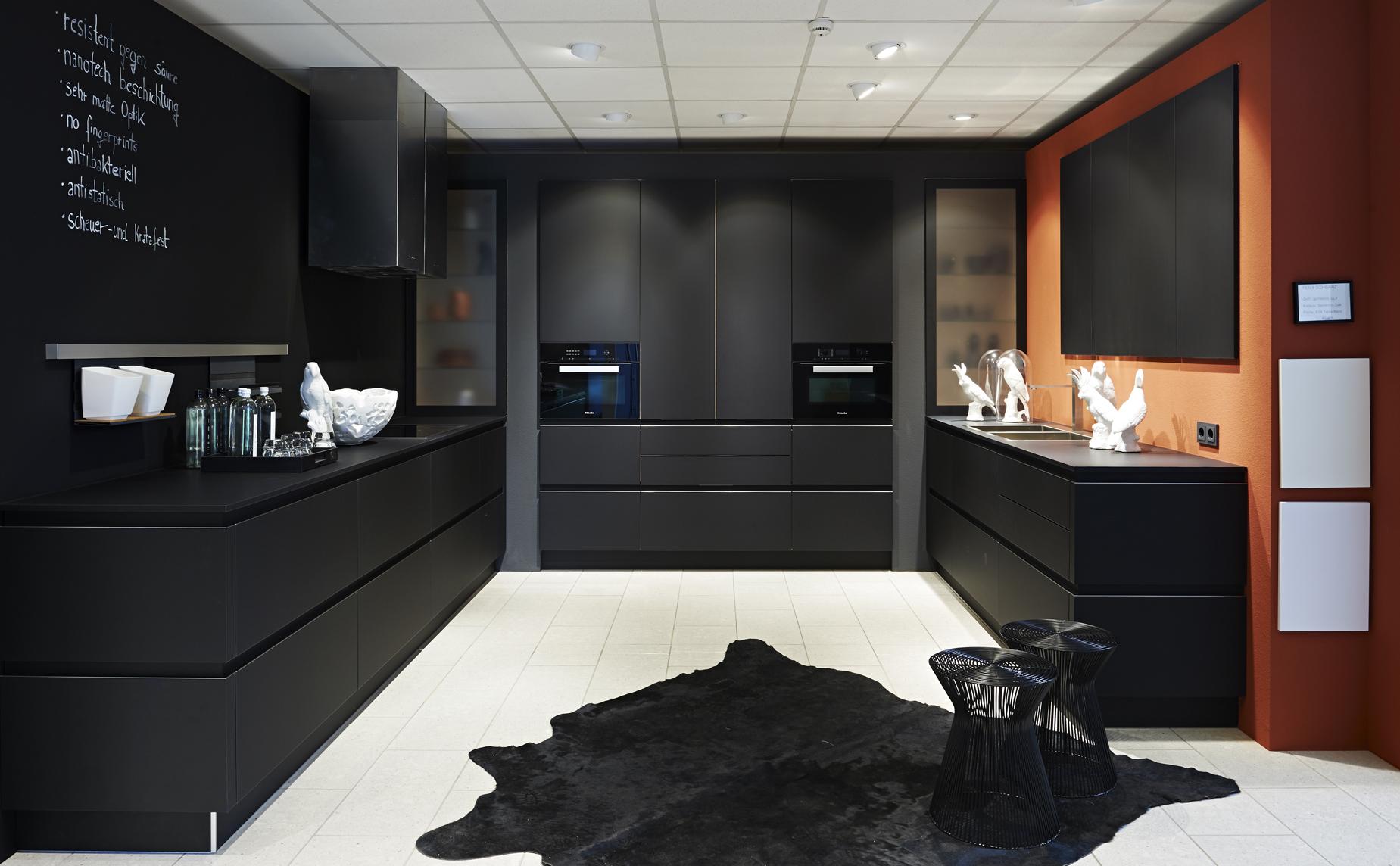 Strakke Zwarte Keuken : Inspiratie verhaegen keukens